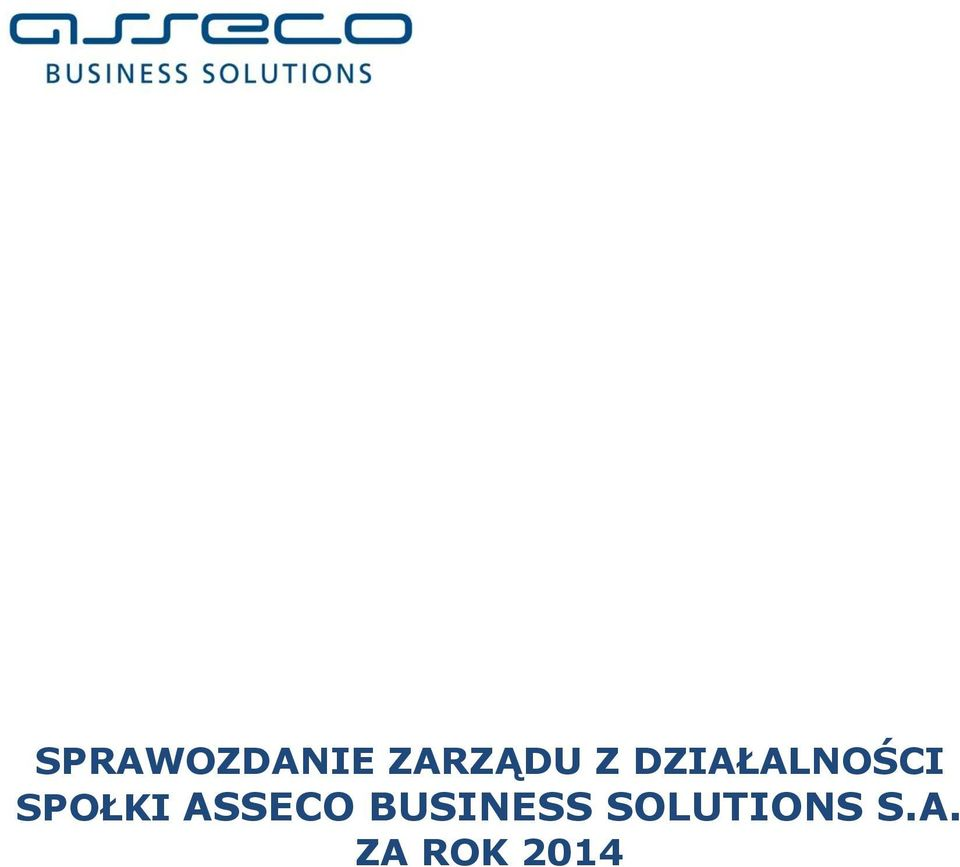 ASSECO BUSINESS