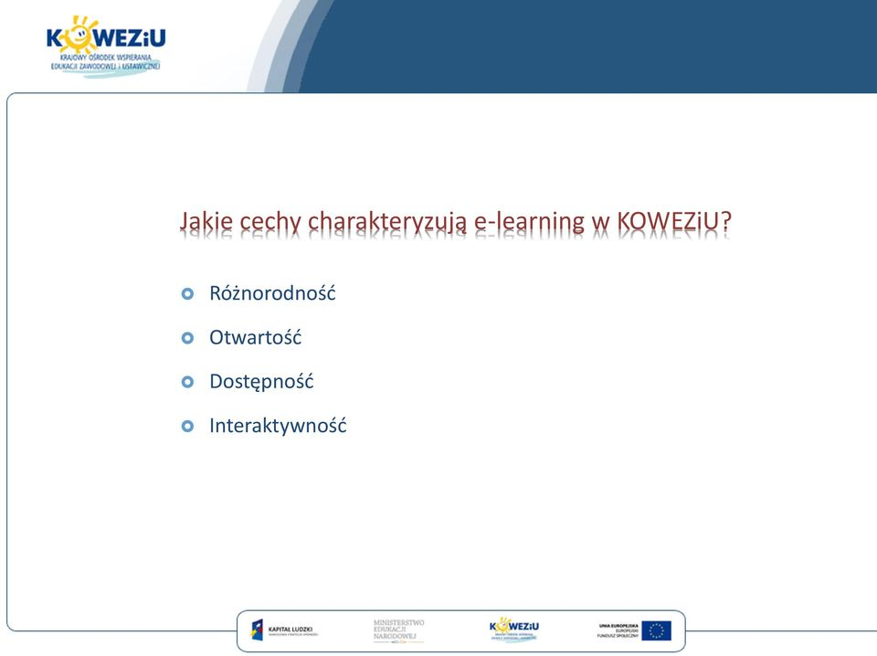 e-learning w KOWEZiU?