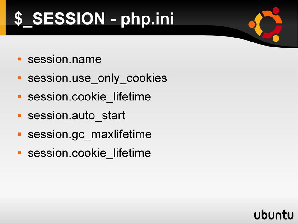 use_only_cookies session.