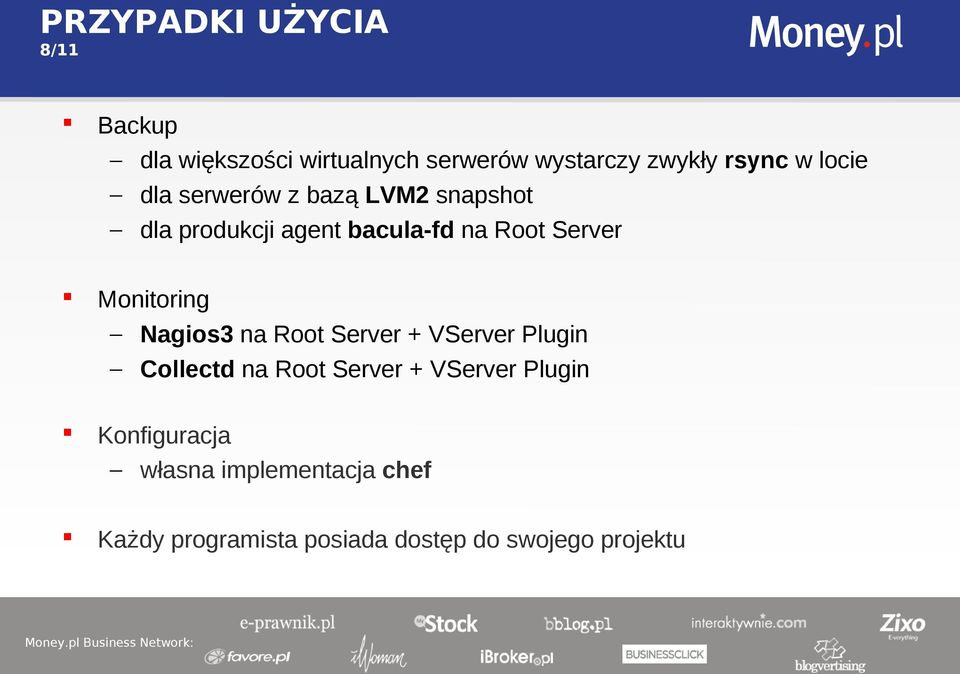 Monitoring Nagios3 na Root Server + VServer Plugin Collectd na Root Server + VServer