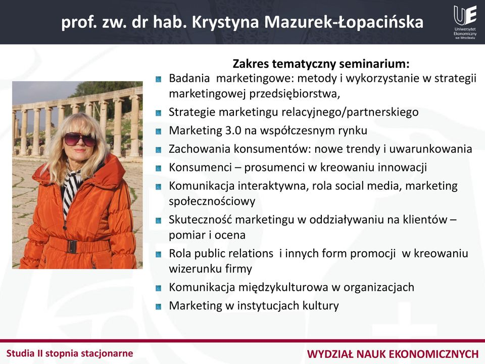 marketingu relacyjnego/partnerskiego Marketing 3.