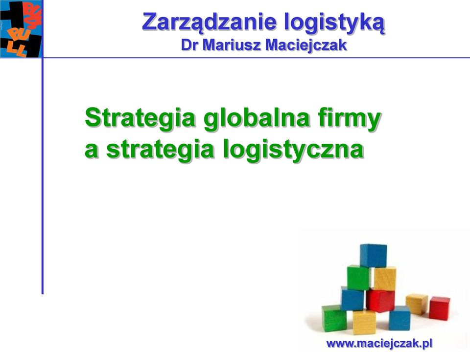 Strategia globalna firmy a