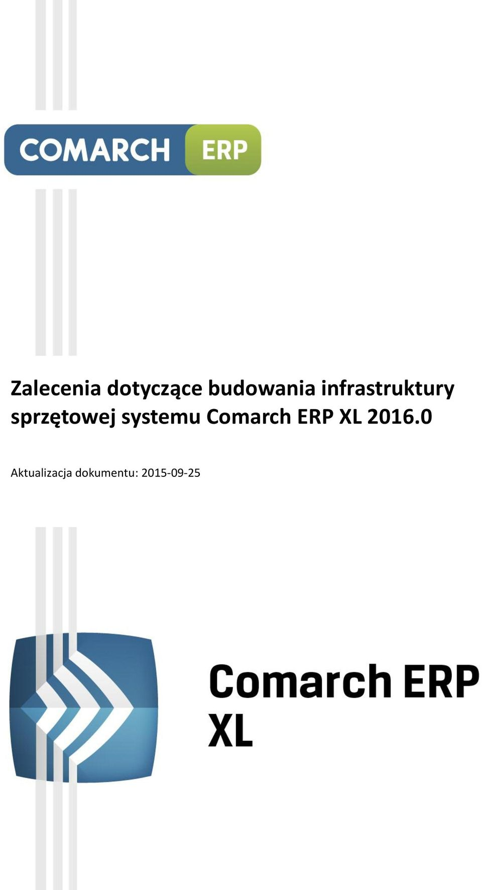 systemu Comarch ERP XL 2016.