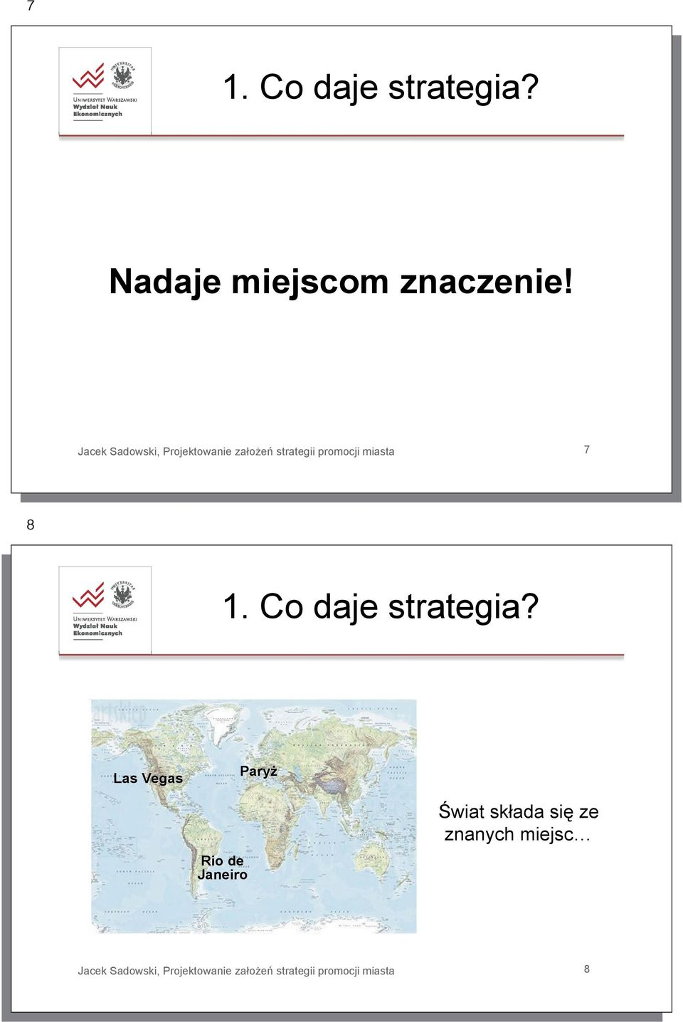 Co daje strategia?