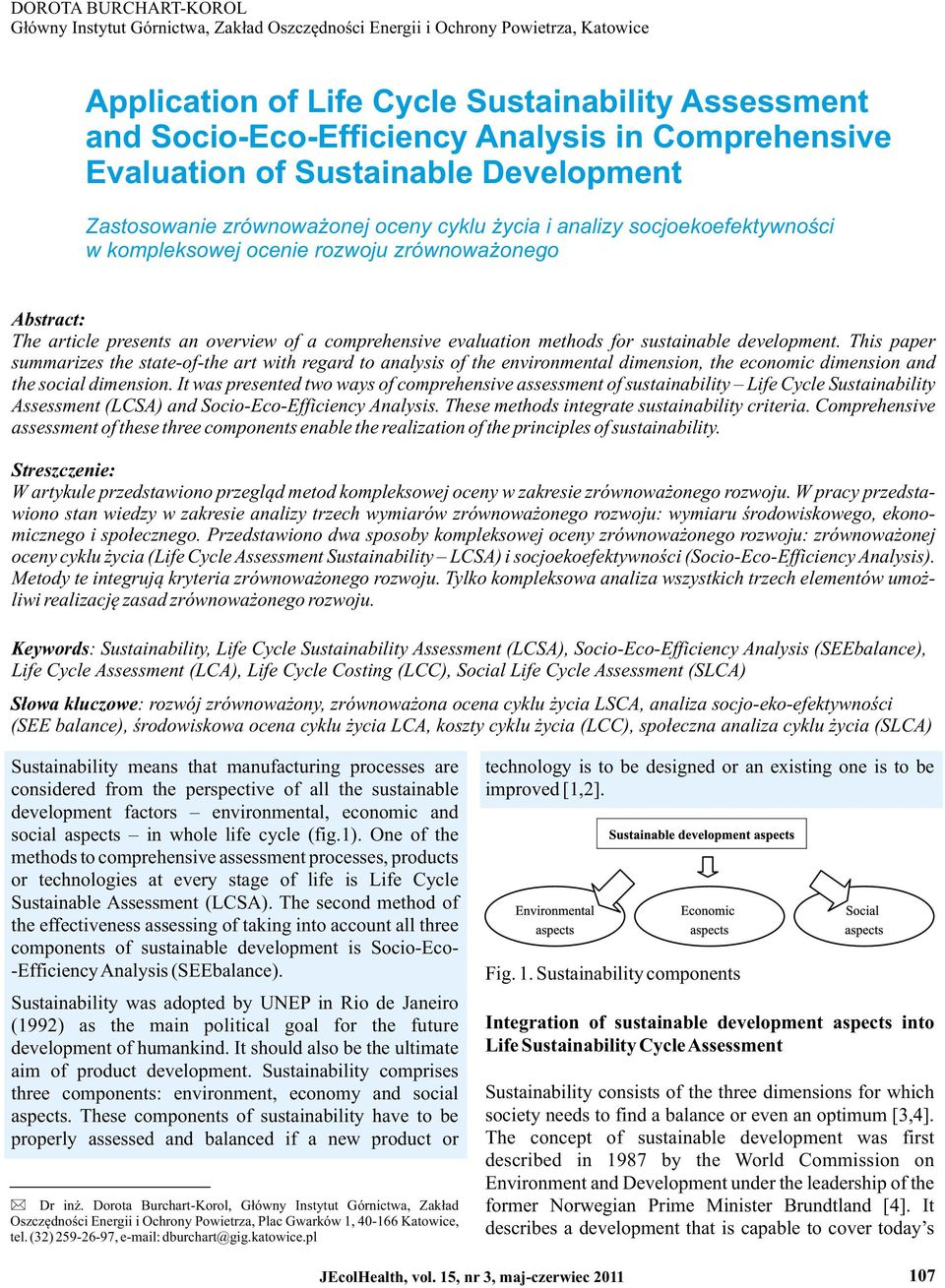 presents an overview of a comprehensive evaluation methods for sustainable development.
