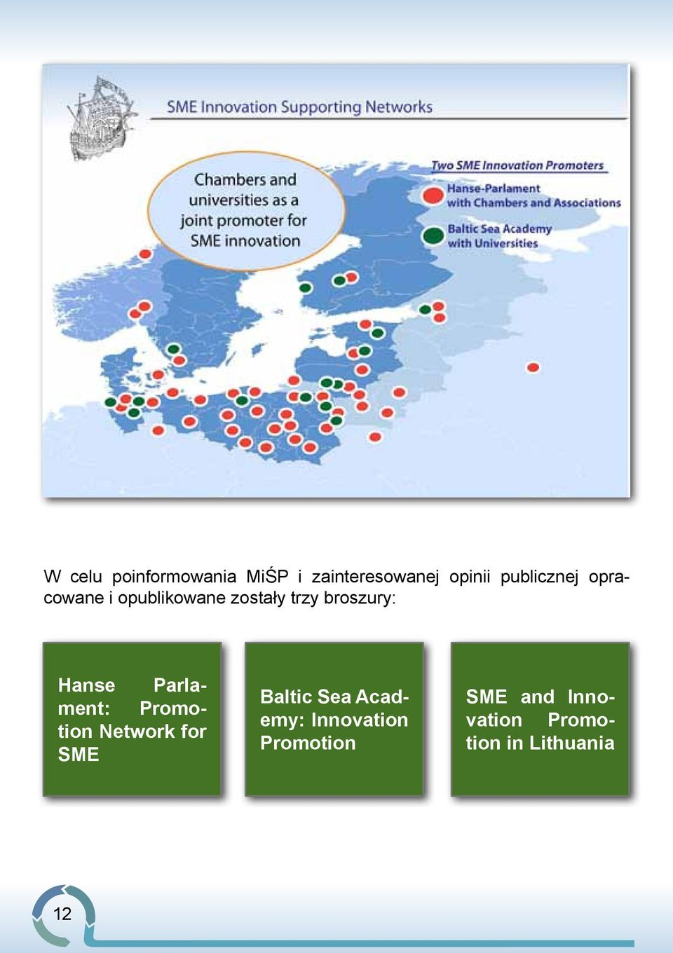 Hanse Parlament: Promotion Network for SME Baltic Sea