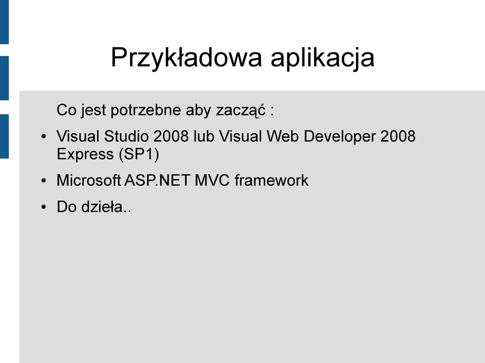 Visual Web Developer 2008 Express (SP1)