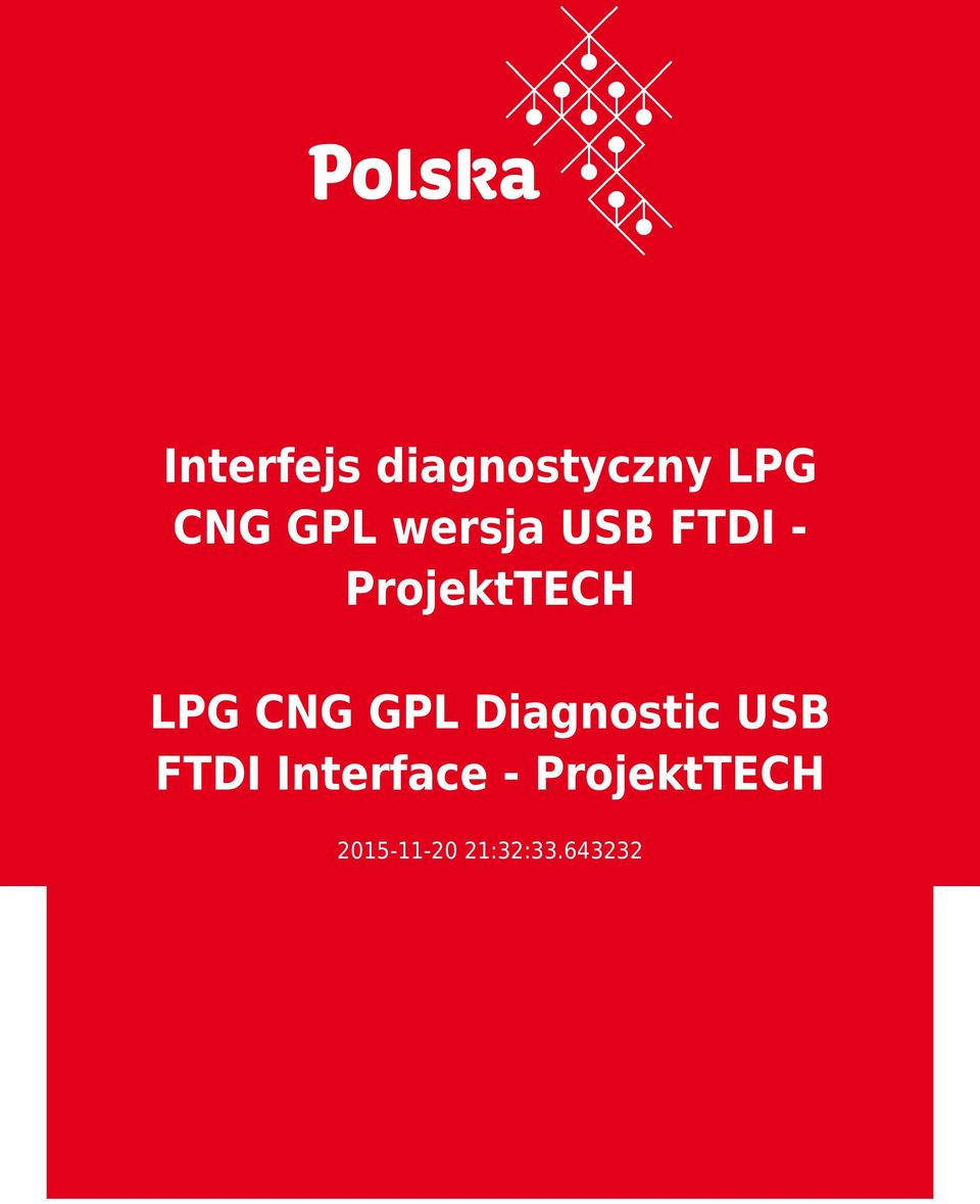 CNG GPL Diagnostic USB FTDI