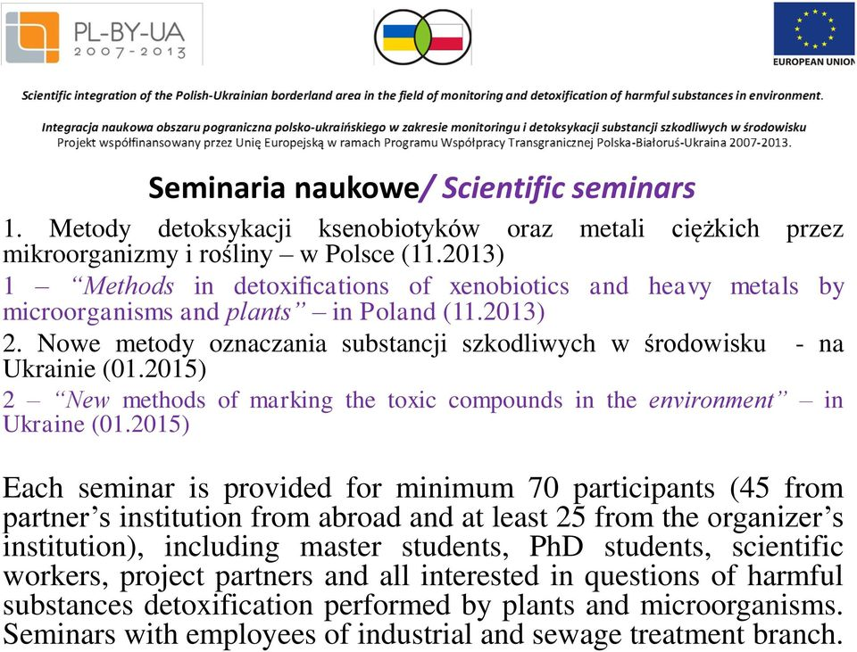 2015) 2 New methods of marking the toxic compounds in the environment in Ukraine (01.