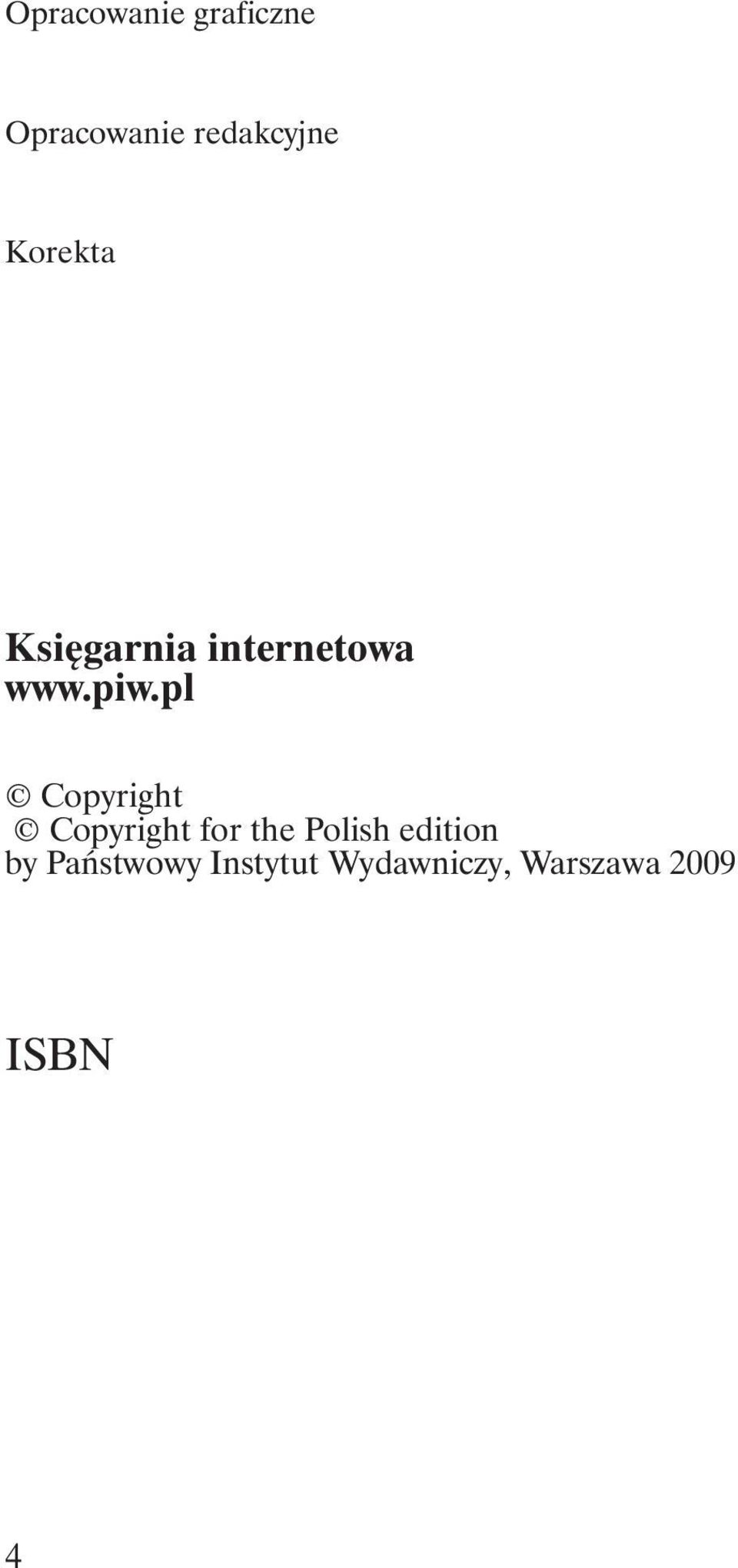 pl Copyright Copyright for the Polish edition