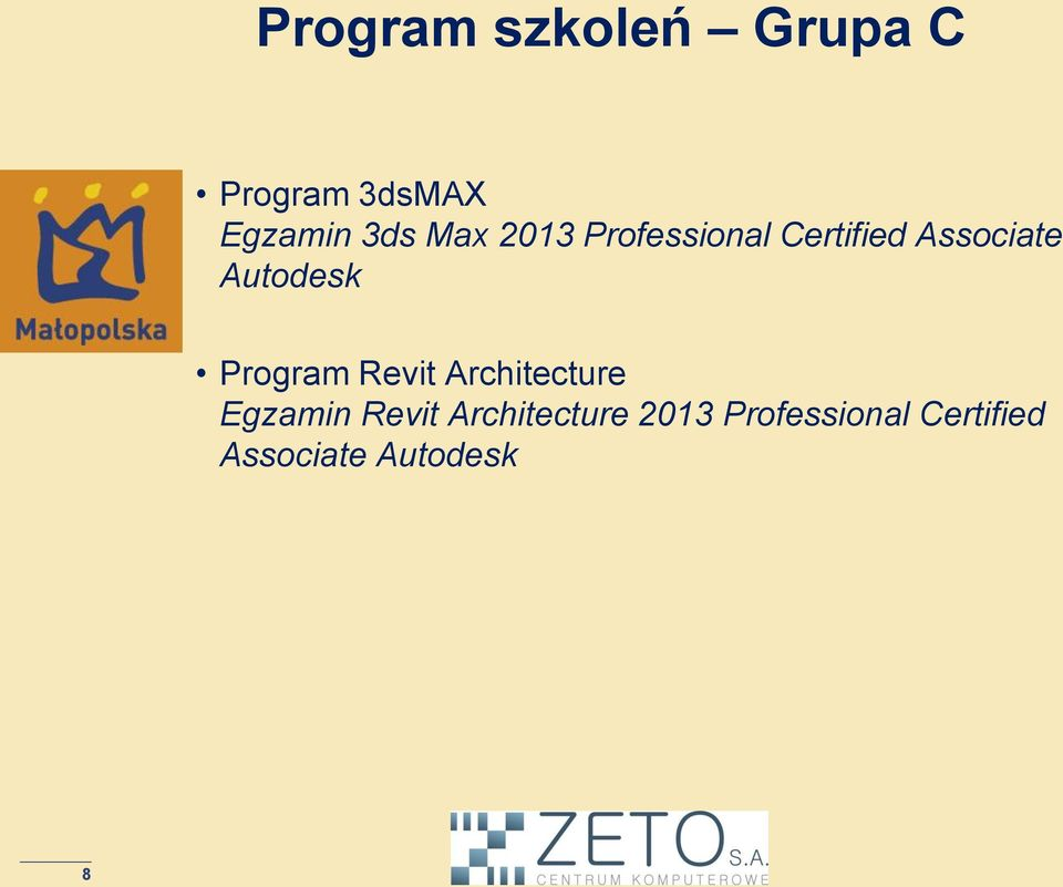 Program Revit Architecture Egzamin Revit