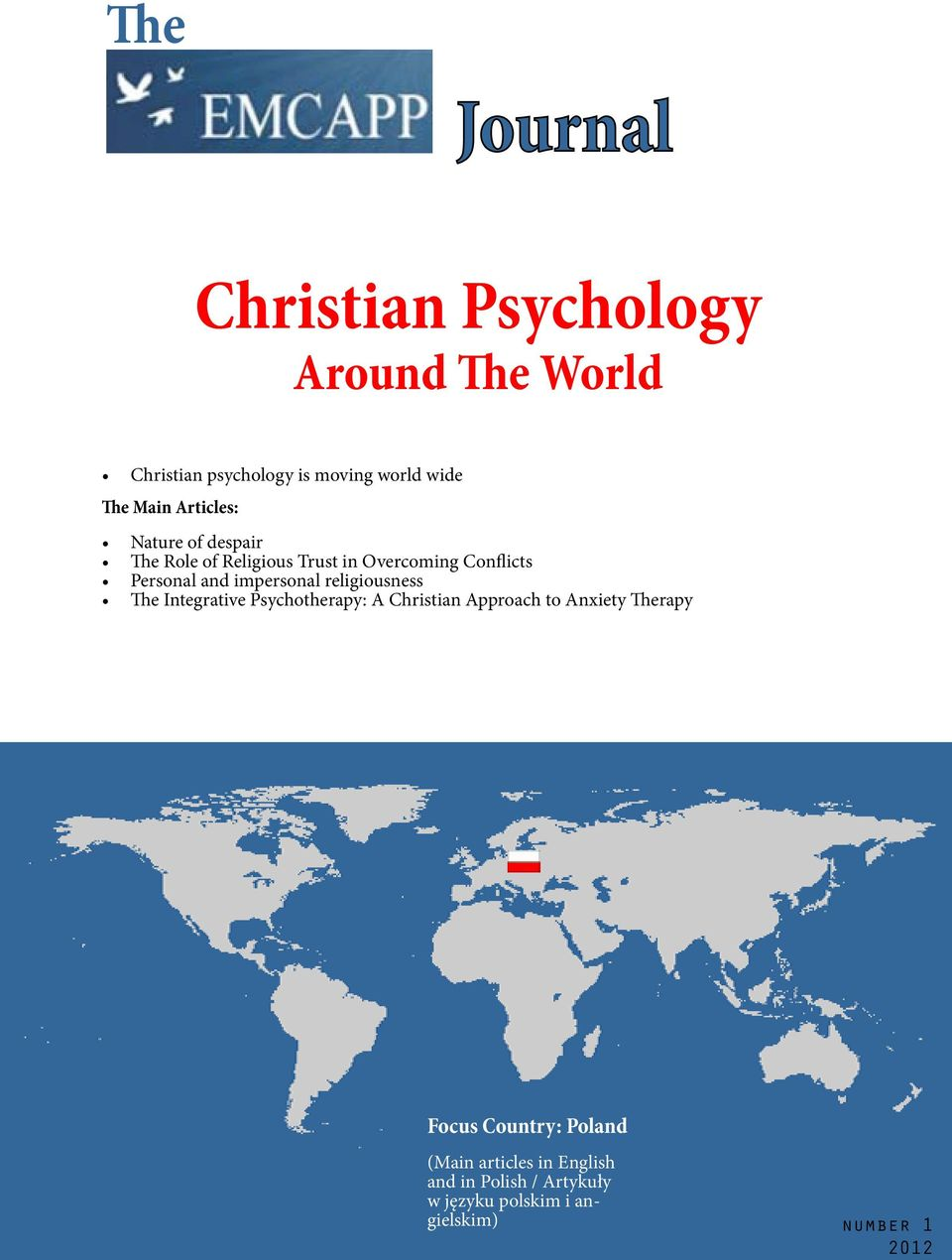impersonal religiousness The Integrative Psychotherapy: A Christian Approach to Anxiety Therapy Focus