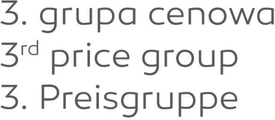 price group