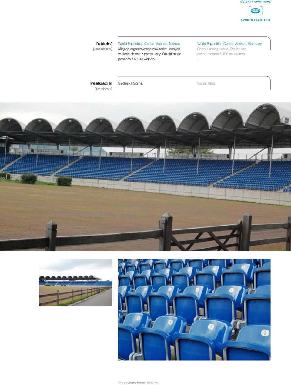World Equestrian Centre, Aachen, Germany Show jumping venue.