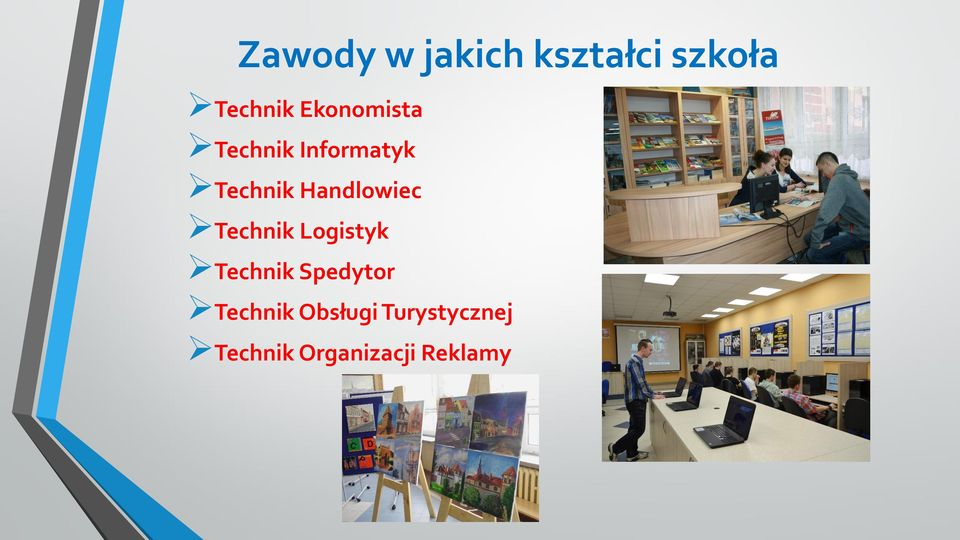 Handlowiec Technik Logistyk Technik Spedytor