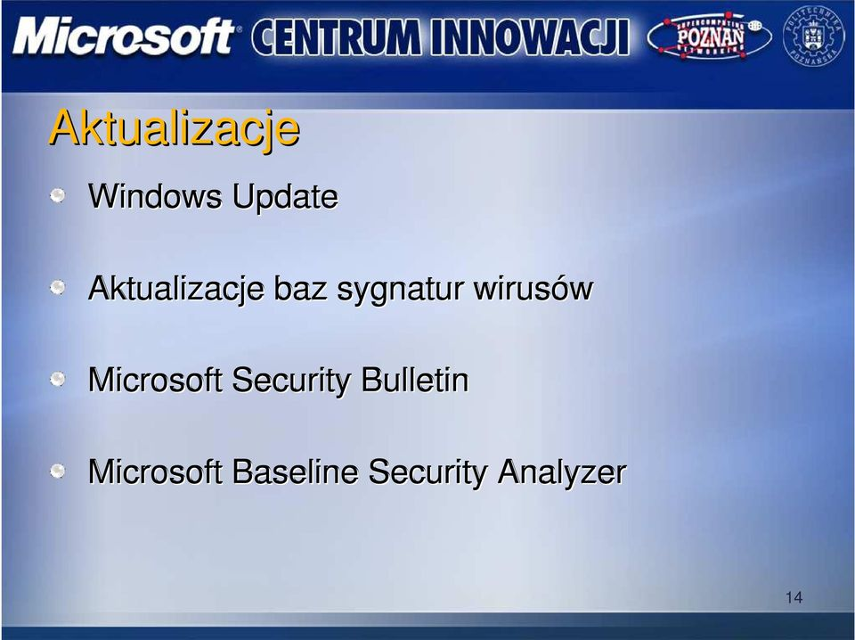 wirusów Microsoft Security