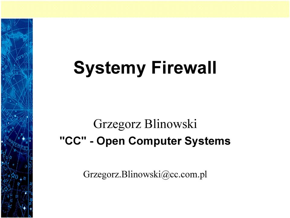 - Open Computer Systems