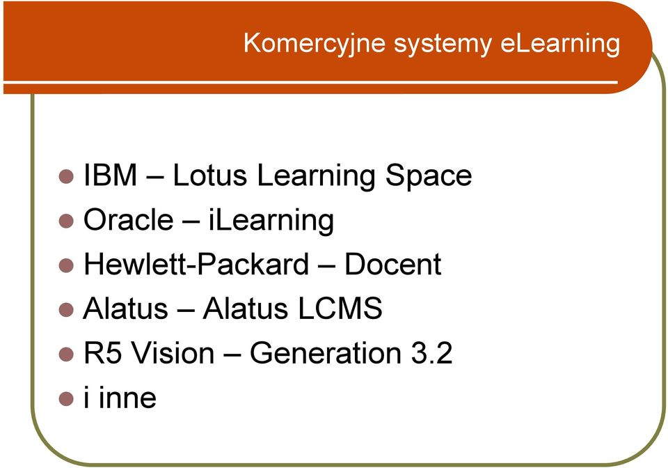 Oracle ilearning!