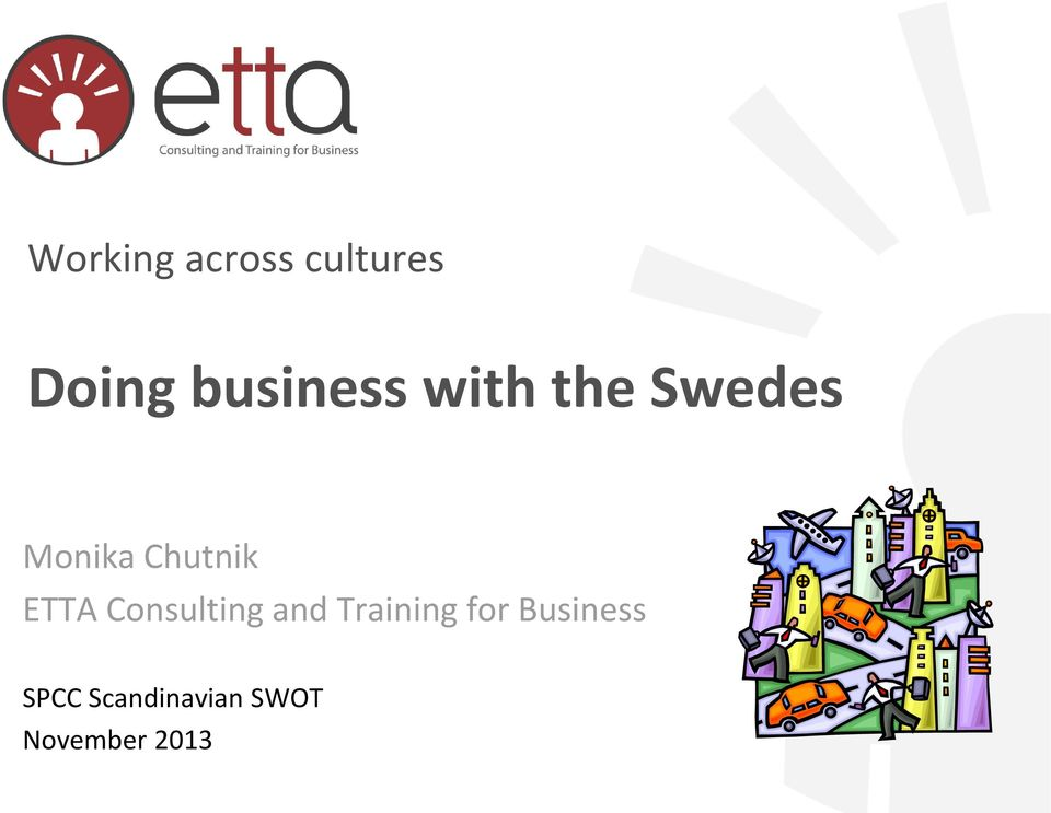 Chutnik ETTA Consulting and Training