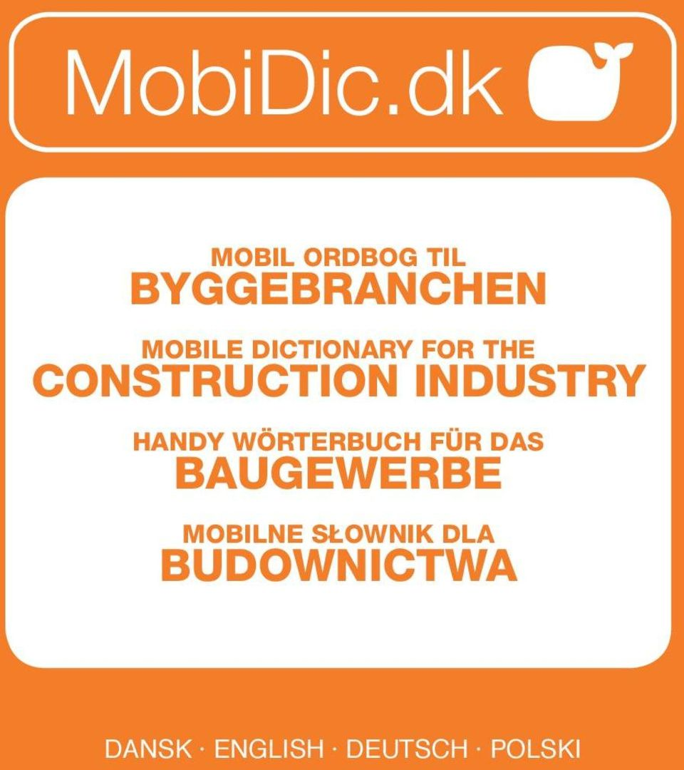 Dictionary for the construction industry Handy