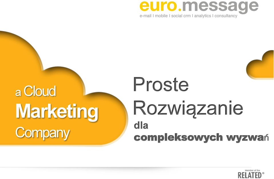 Cloud Marketing Company Proste