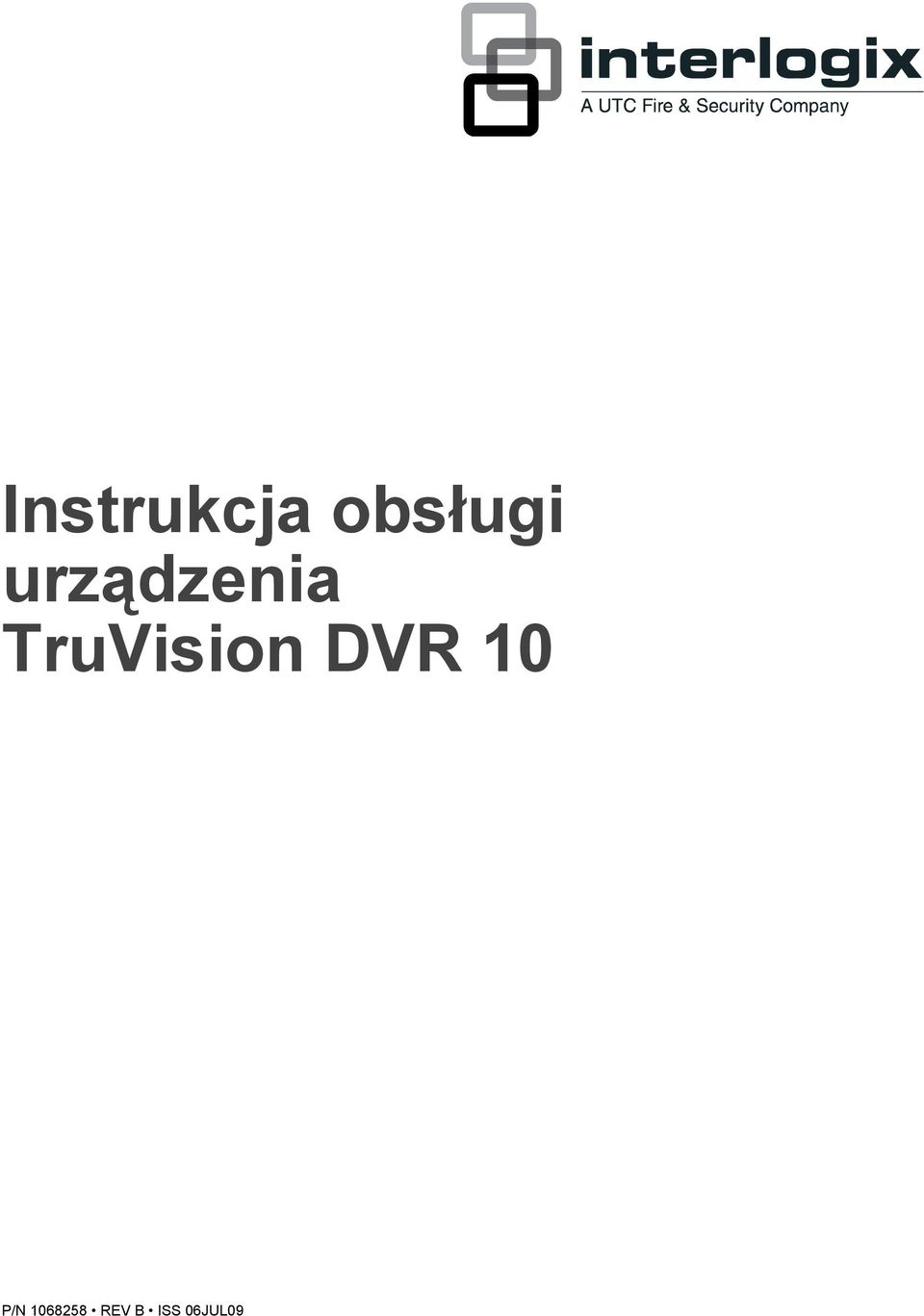 TruVision DVR 10