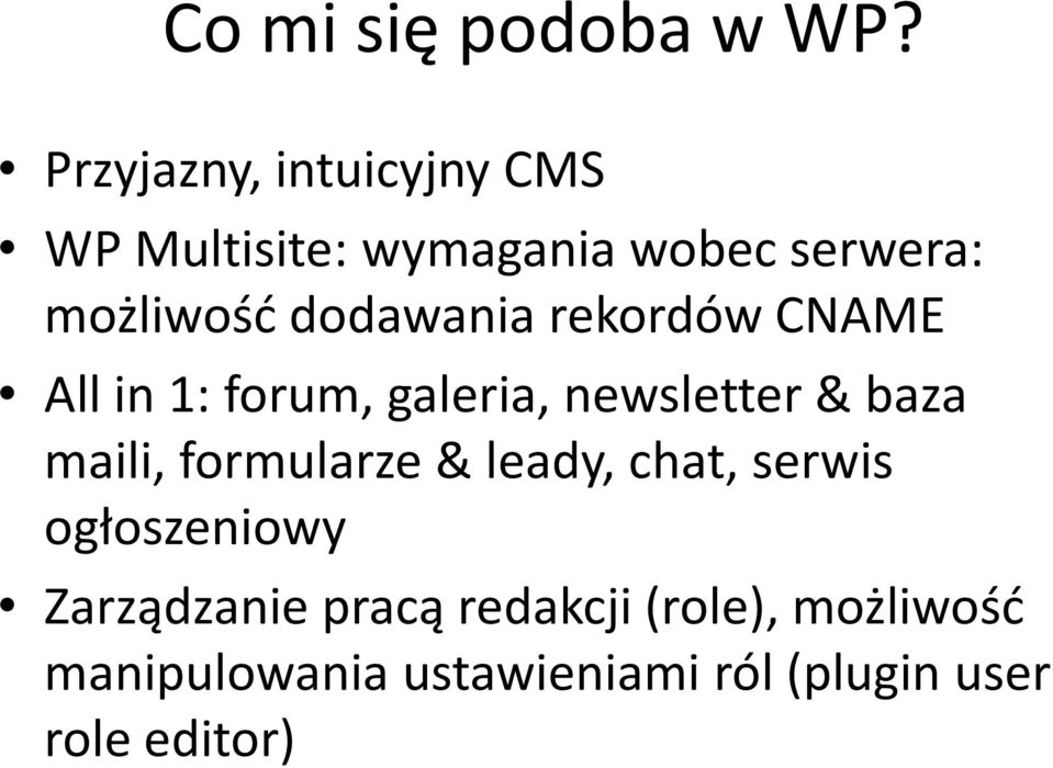 dodawania rekordów CNAME All in 1: forum, galeria, newsletter & baza maili,