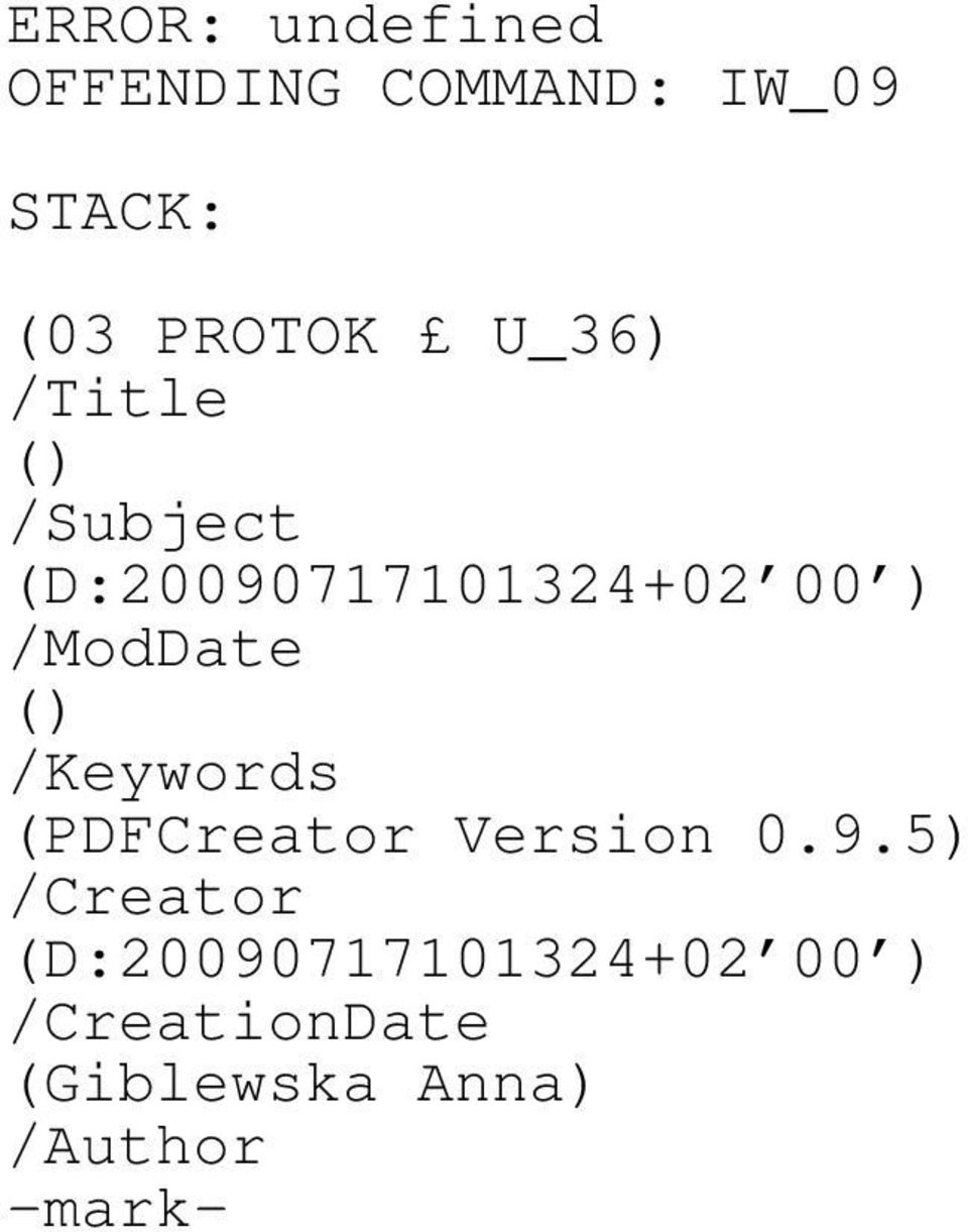 () /Keywords (PDFCreator Version 0.9.