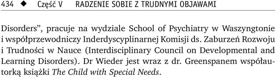 Zaburzeń Rozwoju i Trudności w Nauce (Interdisciplinary Council on Developmental and