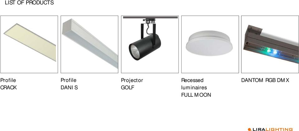Projector GOLF Recessed
