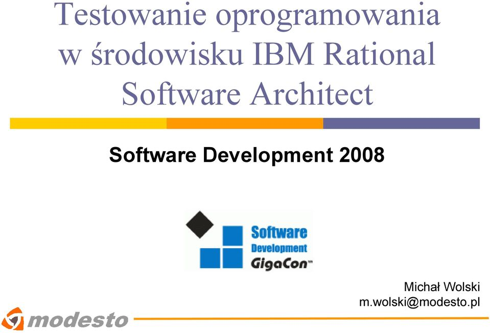 Architect Software Development