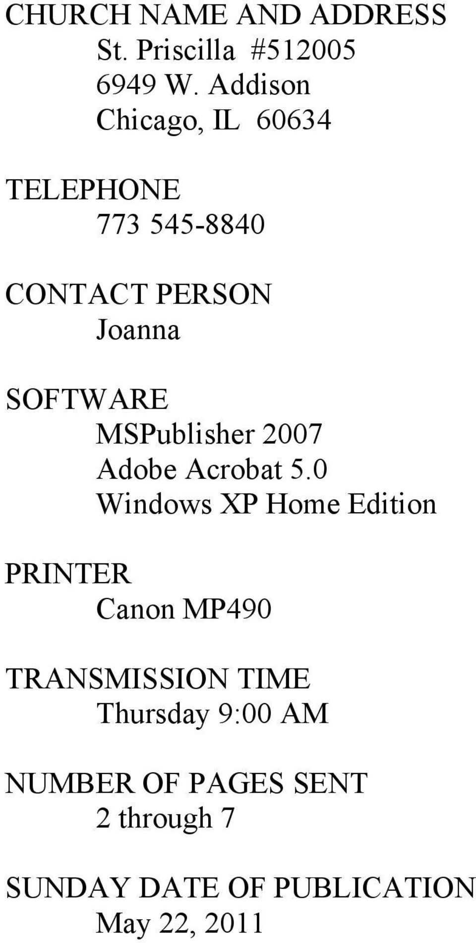 SOFTWARE MSPublisher 2007 Adobe Acrobat 5.