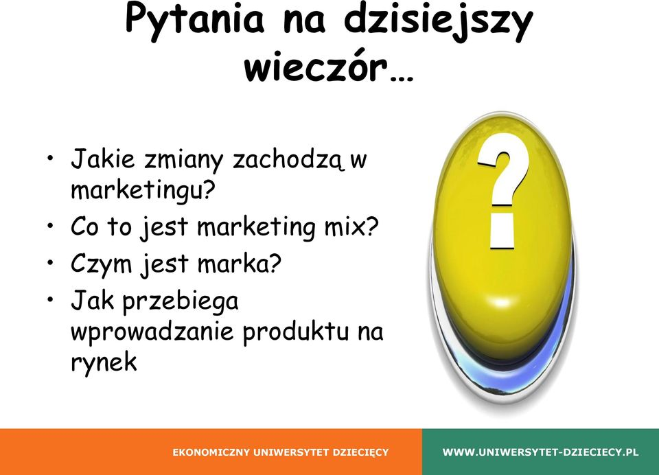 Co to jest marketing mix?