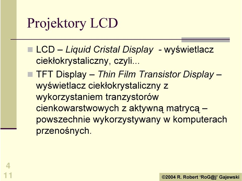 ..! TFT Display Thin Film Transistor Display wyświetlacz