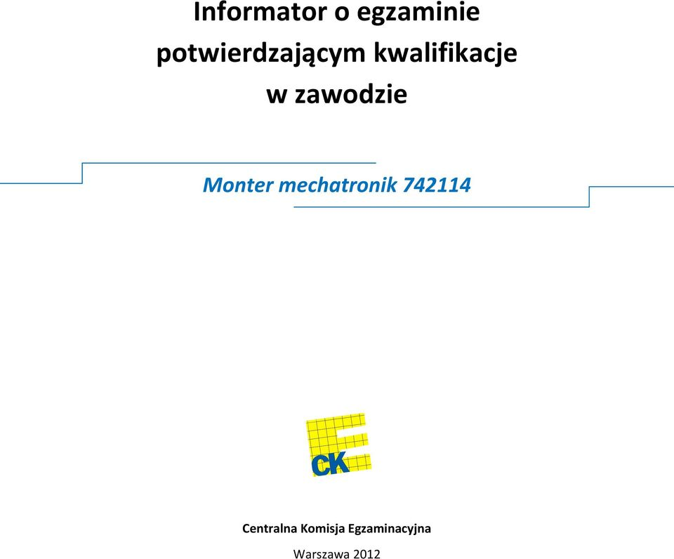 Monter mechatronik 742114