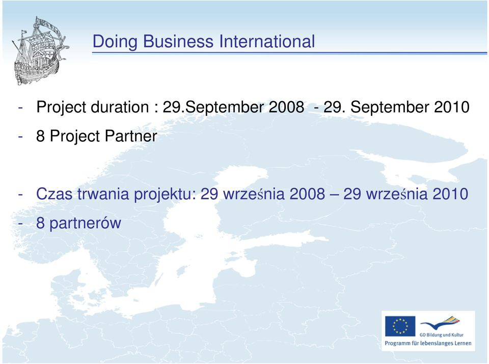 September 2010-8 Project Partner - Czas