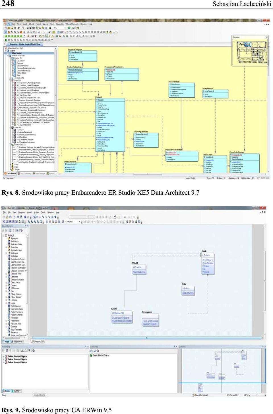 Studio XE5 Data Architect 9.7 Rys.