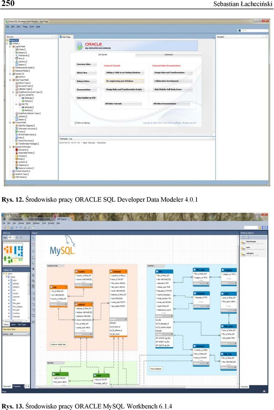 Developer Data Modeler 4.0.1 Rys. 13.