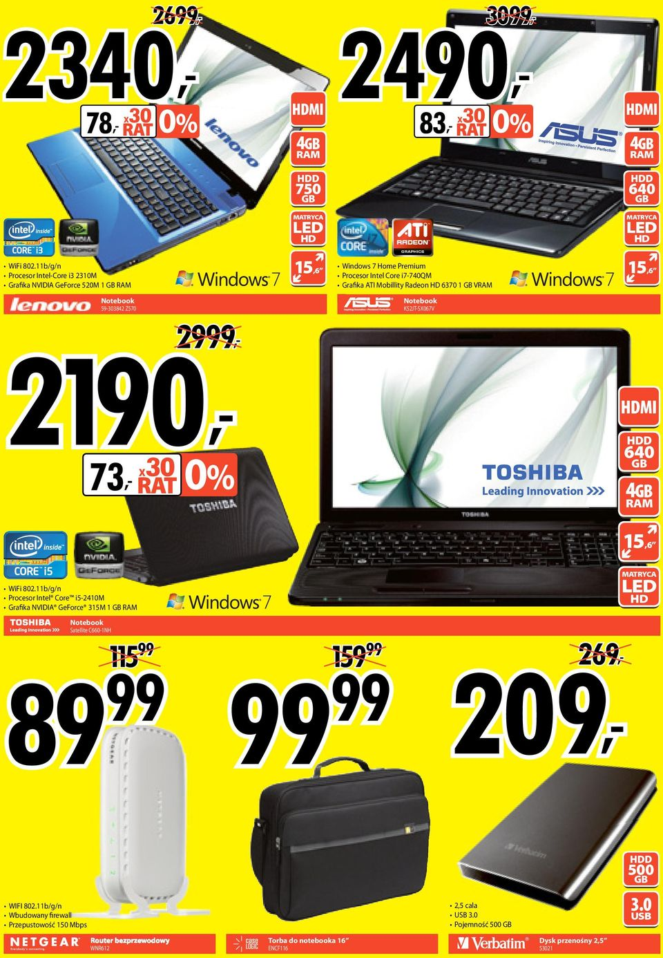 15,6 Notebook 59-303842 Z570 2190, 2999, Notebook K52JT-SX067V 73, x30 HDD 640 GB 4GB RM 15,6 WiFi 802.