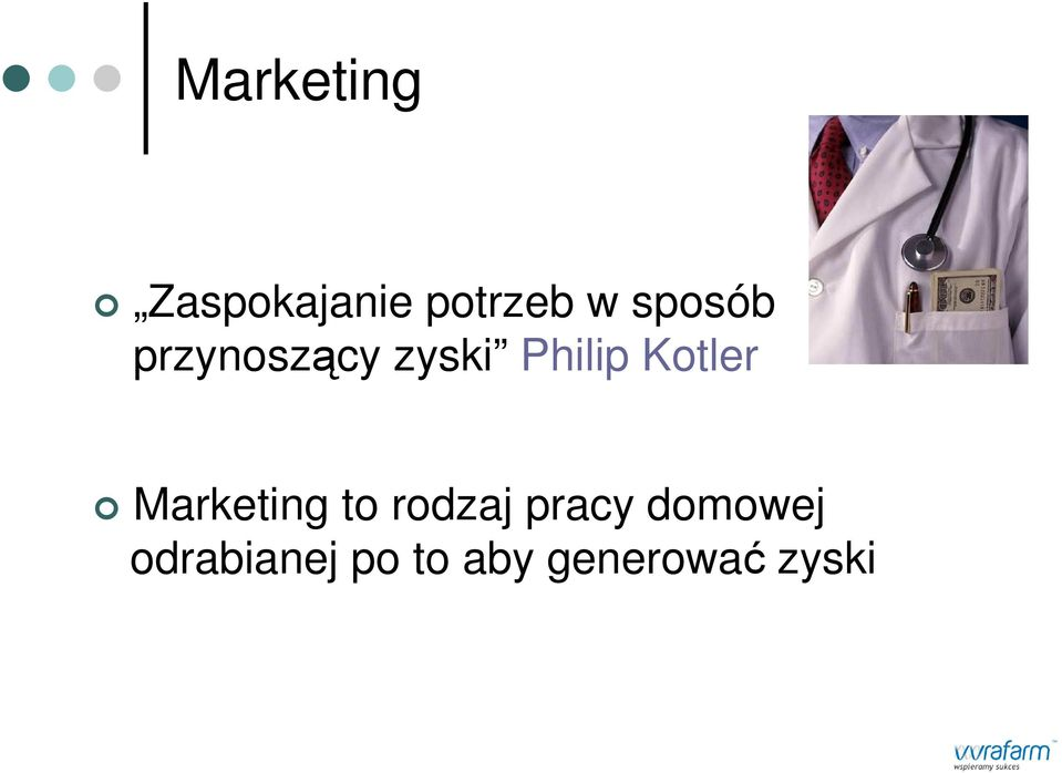 Kotler Marketing to rodzaj pracy