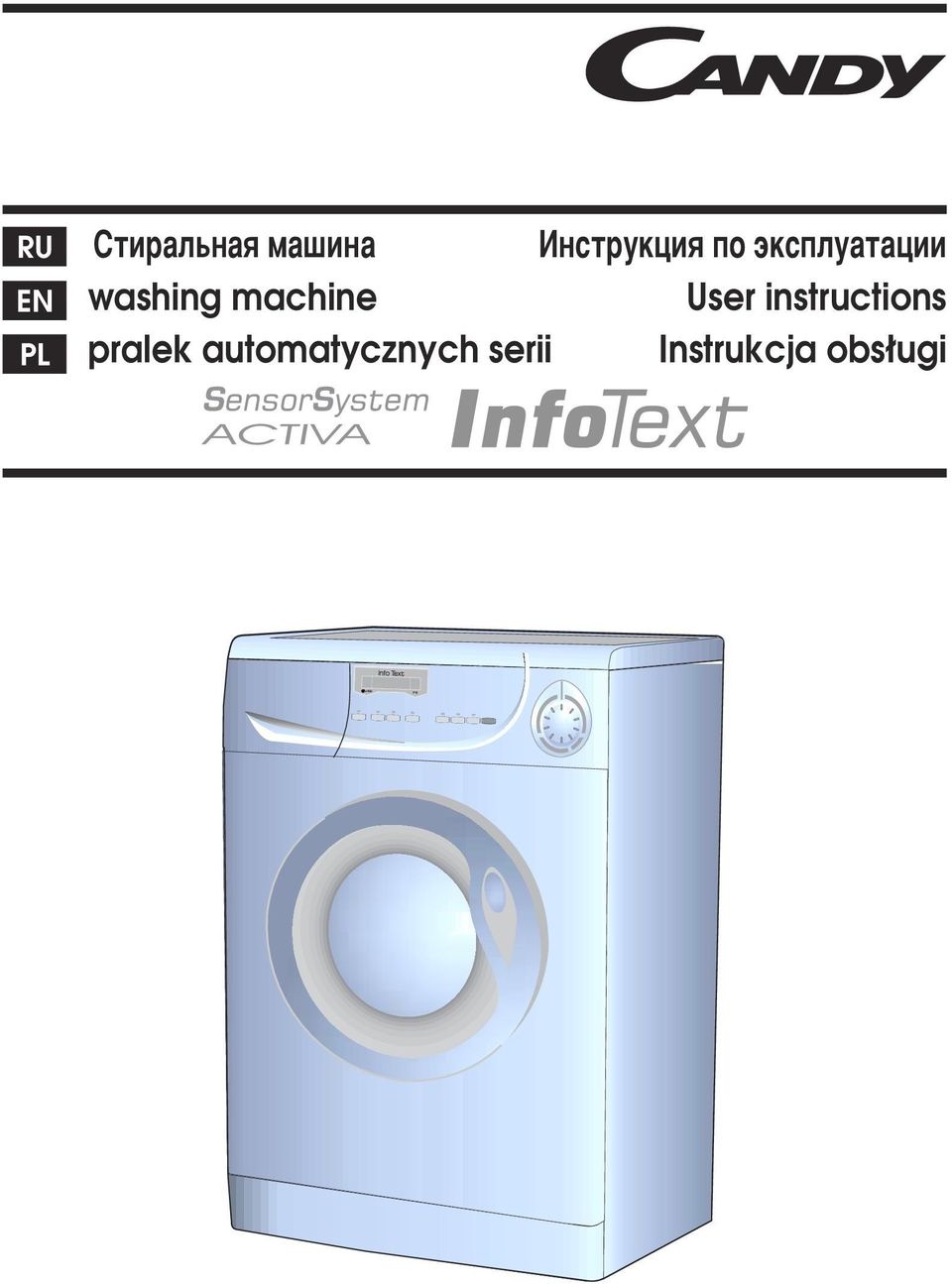 washing machine User instructions
