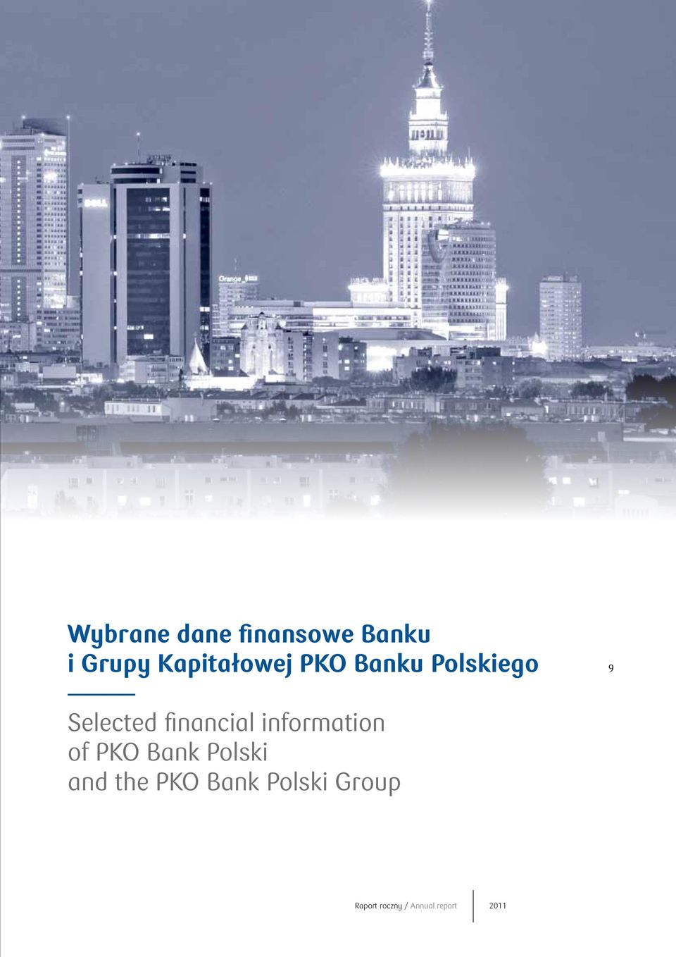 financial information of PKO Bank Polski and
