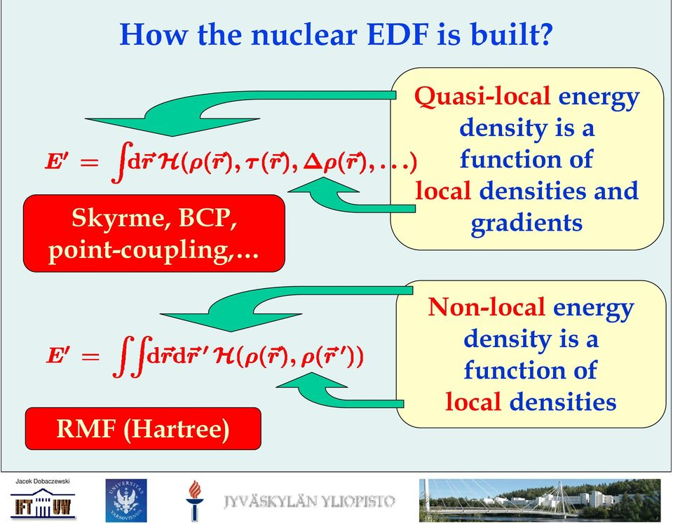 Quasi-local energy density is a function of local
