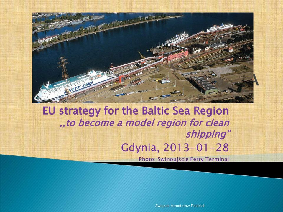 for clean shipping Gdynia,