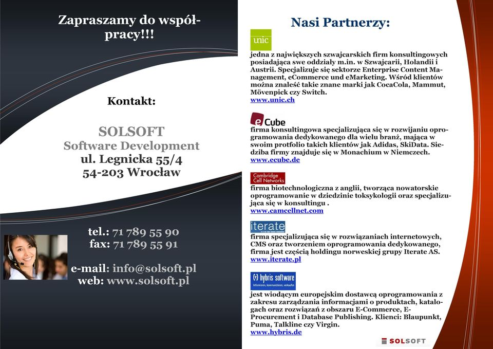 ch SOLSOFT Software Development ul.