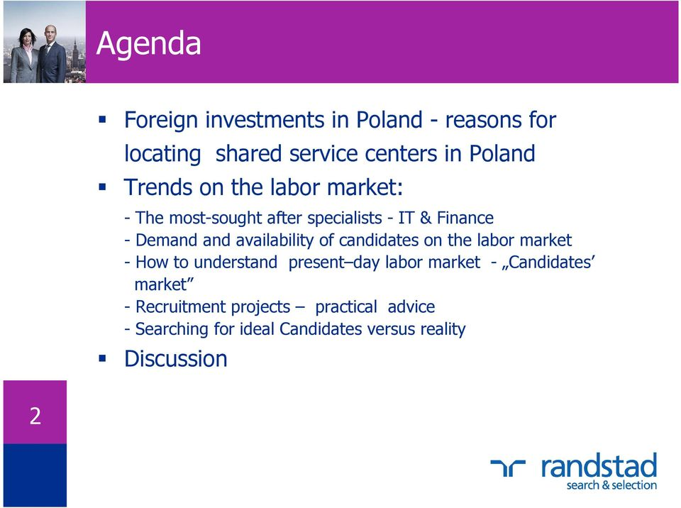 of candidates on the labor market - How to understand present day labor market - Candidates market
