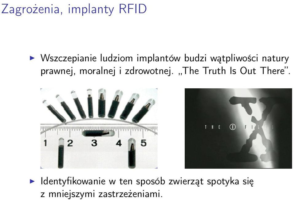 i zdrowotnej. The Truth Is Out There.