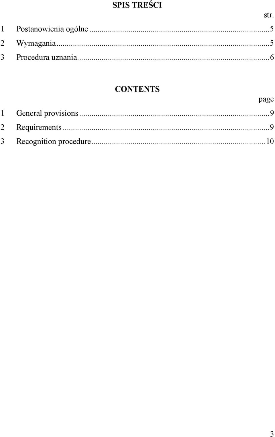 ..6 CONTENTS page 1 General provisions.
