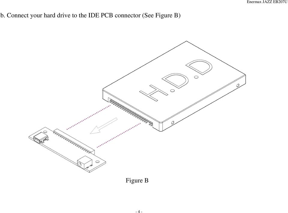 to the IDE PCB connector