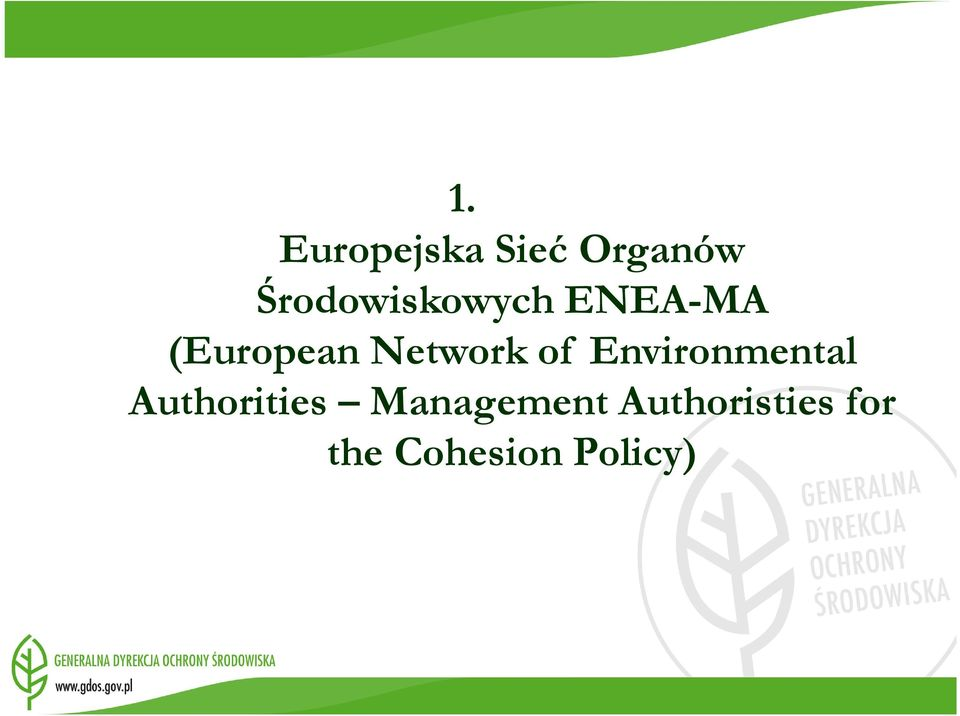 Network of Environmental Authorities
